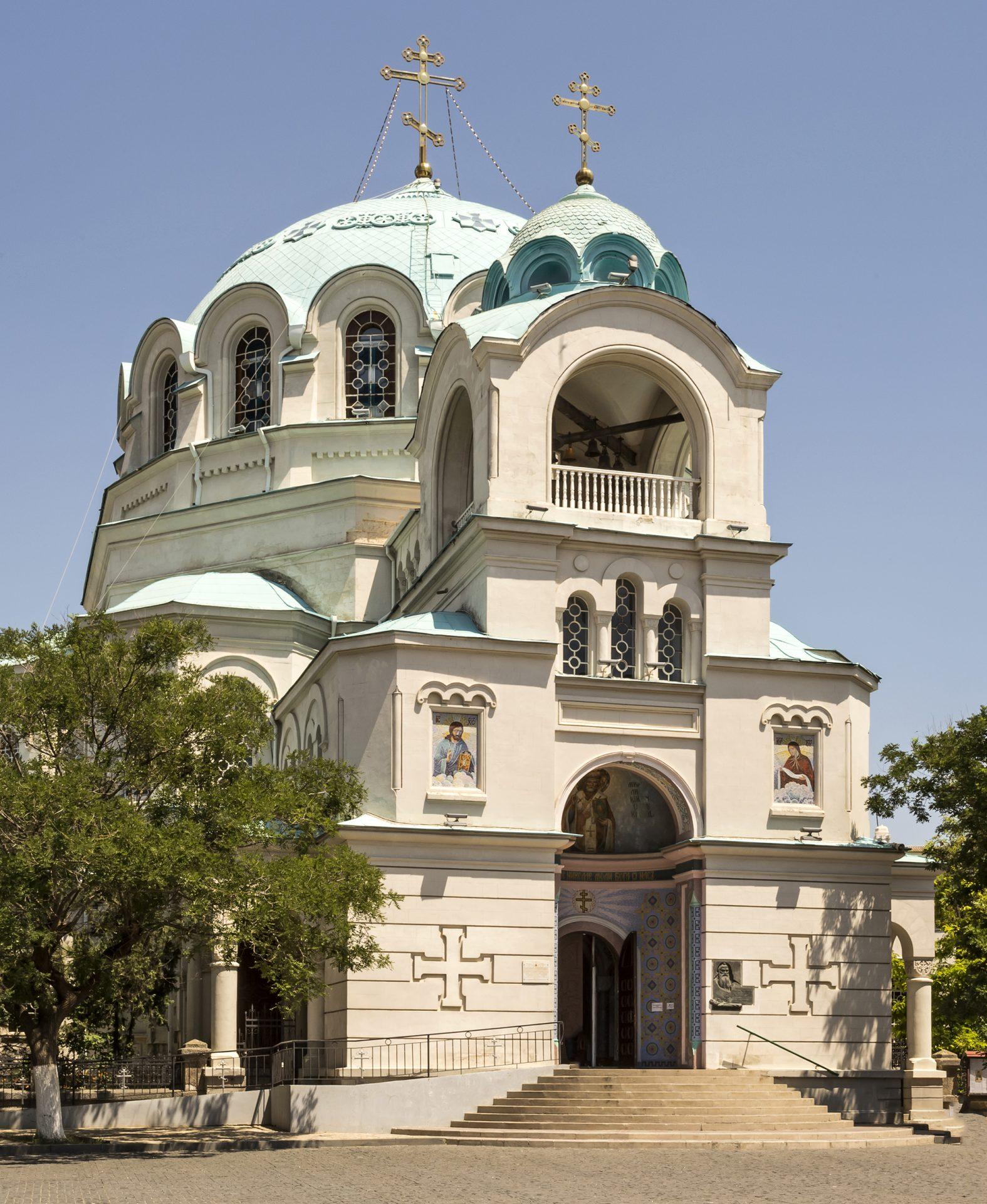 Saint Nicholas church in Eupatoria